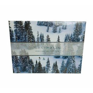 Gray Malin Snow 500 Piece Double Sided Puzzle New
